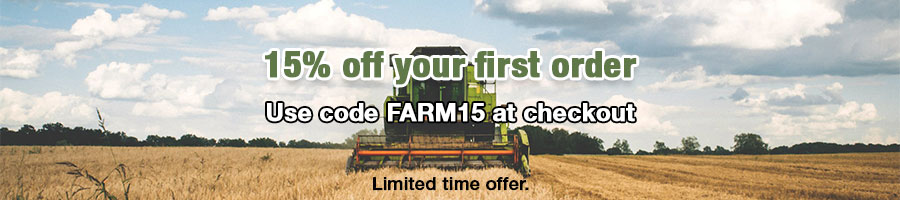 15% off your first order with code FARM15